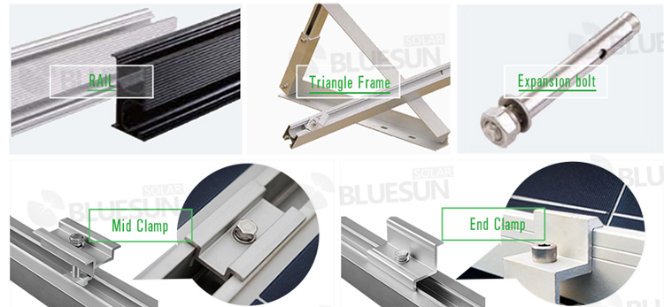 solar panel roof fixings