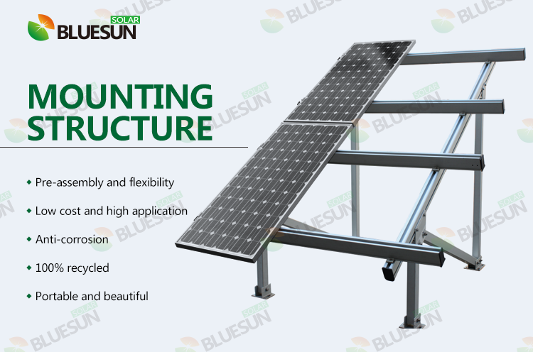 Buy Ground Mounted Pv Racking Systems Professional Ground