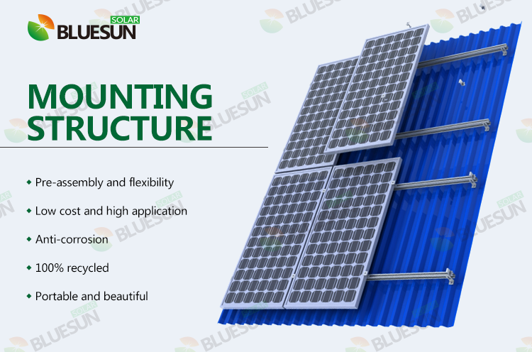 Buy Tin Roof Solar Mounting And Racking System