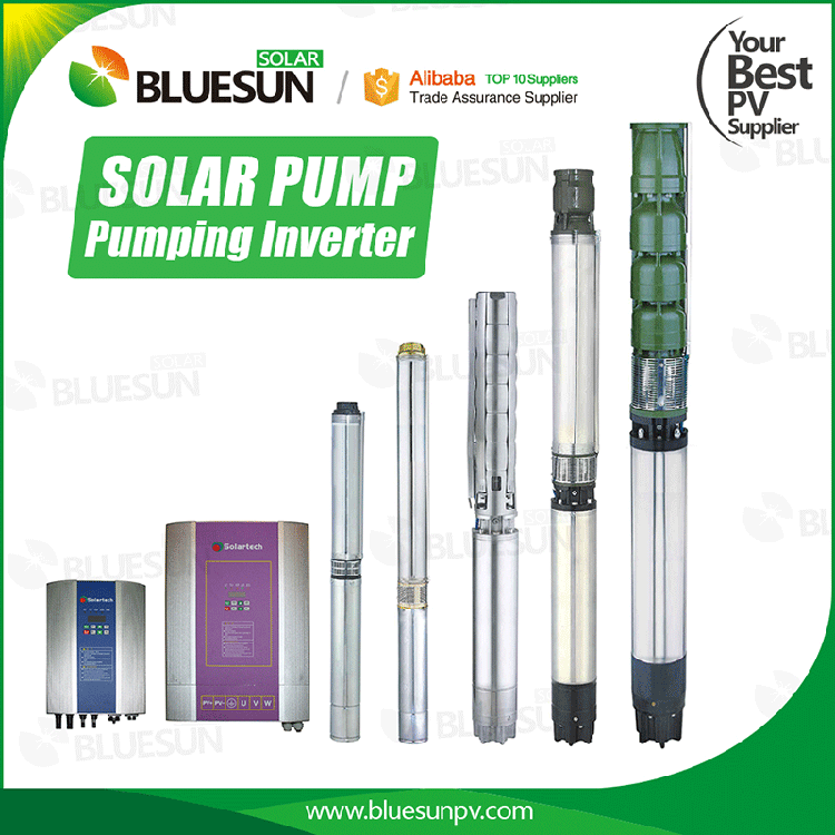 solar water pond pump