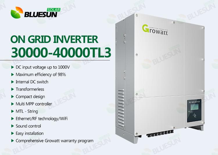 Buy Growatt 30000W-40000W Grid Tie Solar Inverter