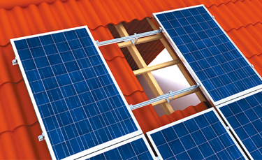 solar module mounting structure design