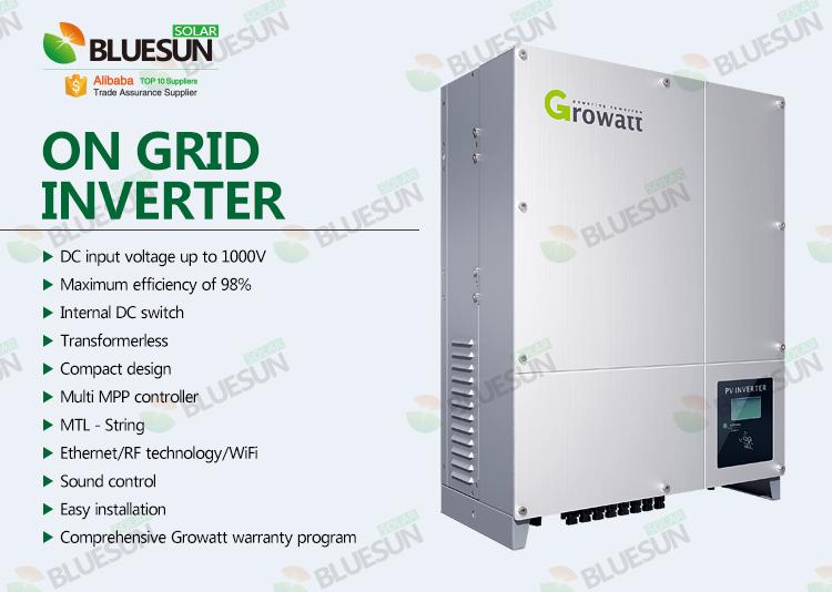 Buy 5kw Solar Inverter 3 Phase On Grid Dc To Ac Grid Tie Solar Power Inverter Transformerlesss Professional 5kw Solar Inverter 3 Phase On Grid Dc To Ac Grid Tie Solar Power Inverter