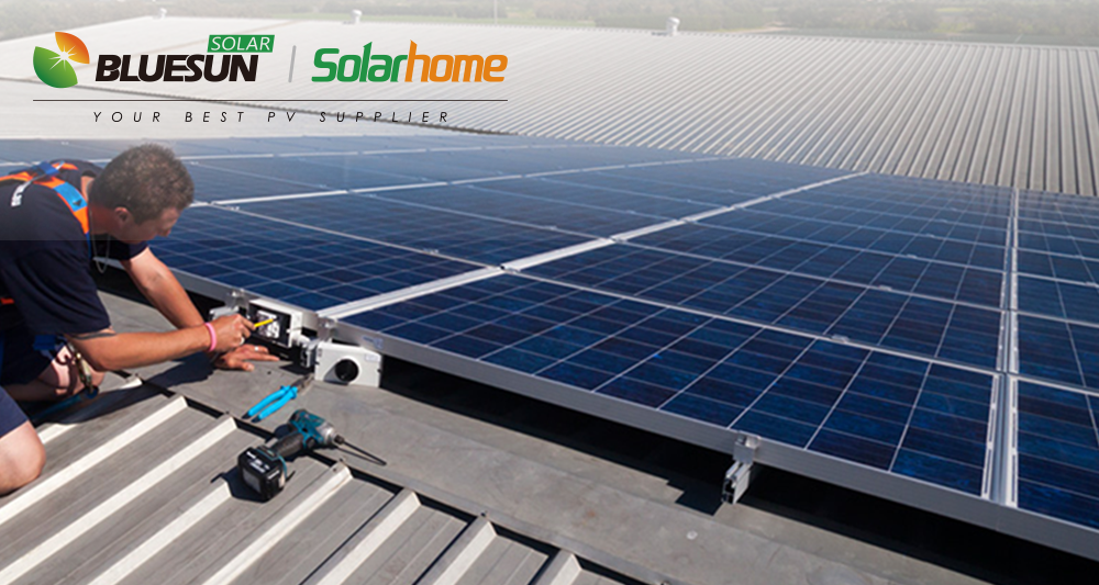 500 KW PV solar system on grid solar power plant