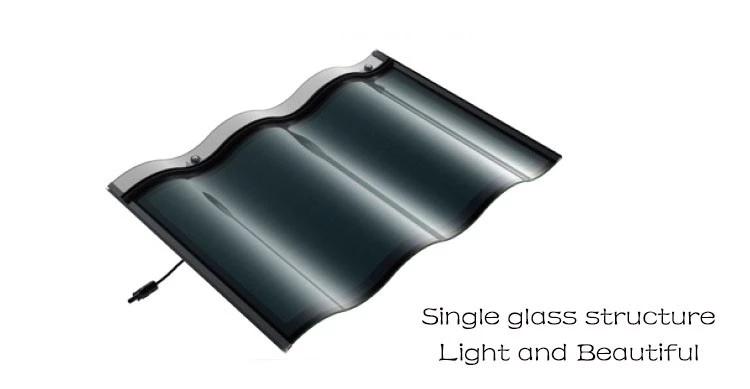 solar panels tile