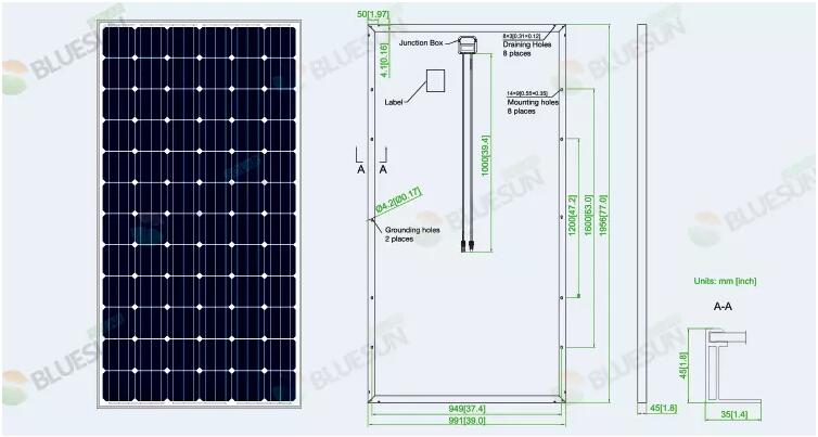 Buy High Power Solar Panels 390 Watt Solar Panel Professional High Power Solar Panels 390 Watt Solar Panel Manufacturers