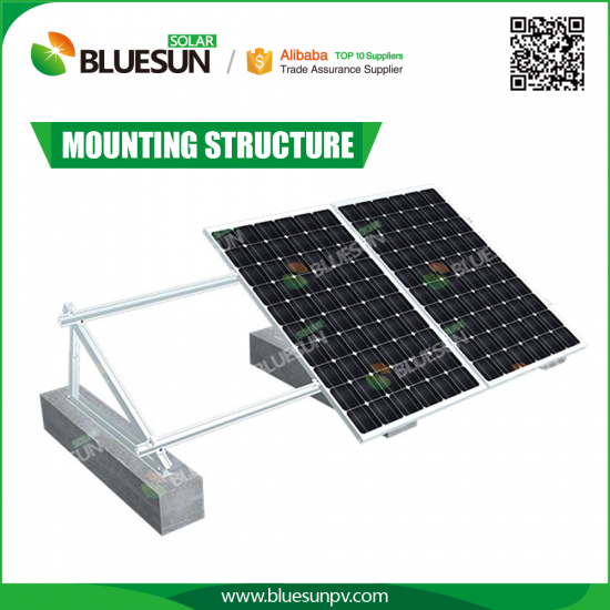 Buy Solar System Flat Rooftop Brackets Professional Solar