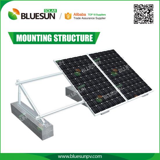 Buy Solar System Flat Rooftop Brackets Professional Solar