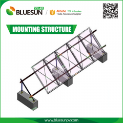 Solar PV Module Ground Mounting Racking Systems