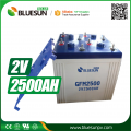 2V 2500AH aaa recharge battery