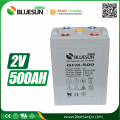 2V 500AH the battery top rechargeable batteries