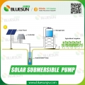 1.5HP submersible solar water pump