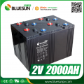 2V 2000AH triple a rechargeable batteries and charger