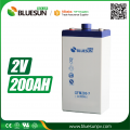 2V 200AH rechargeable d battery charger