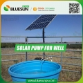 DC voltage solar well pump