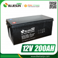 12V 200AH best quality rechargeable aa batteries