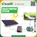100HP solar pump station for irrigation