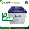 2V 1500AH Solar Battery aa Rechargeable for Solar Panel