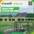 75HP three phase solar pump system for farm