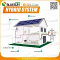 15KW hybrid solar system for home use