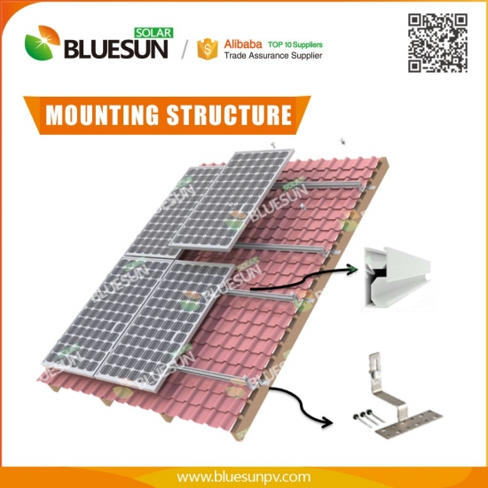 Buy 15kw Hybrid Solar System For Home Use Professional