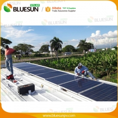 1kw Grid Tied solar power system 1kva power plant solar power system kits