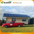 7KW grid tied solar system for home commercial use