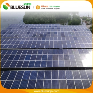 100KW grid tied solar power system 83 kva power plant house industrial commercial use