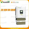 100 KW grid tied solar system power plant design solution
