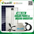 Solar Panel & 250W Micro Inverter Solar Kit Micro Grid-tied Solar Energy System