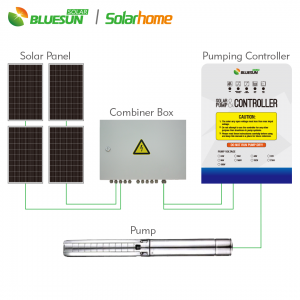 DC 48V solar submersible pump controller for pool  and garden