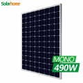 5BB Panel Solar High Efficiency 48v 490watt Monocrystalline