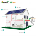 5KW grid tied home solar power system