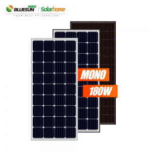 12v mono 165w 170w 175wp 180watt solar panel 12volt offgrid solar power kit