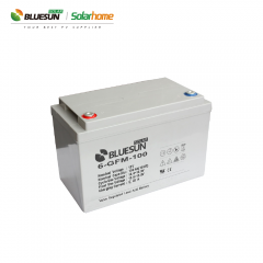 AGM 12V 100ah Deep Cycle Solar Battery Wholesale for Solar System