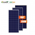 Hybrid 150KW solar power system with battery backup
