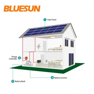 20KW off-grid solar power system with battery