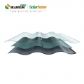 Bluesun Popular Single Glass Roof Solar Tile 30W Photovoltaic Roof Tile