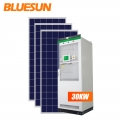 Bluesun on off grid solar system 30kw solar energy storage system for industrial