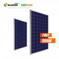 Hot Sale Poly Hanwha Solar Panel 36v 340w 350w 355w for Home and Industrial Use