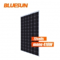 Frameless Bifacial Solar Panel 410w Solar Panel