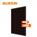 Black Mono Solar Panel 60 Cells Series