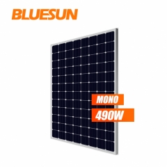 5BB Panel Solar Mono 490w 500w High Efficiency 48v 500w Monocrystalline
