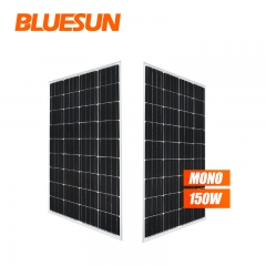Bluesun 5BB 150W Mono Solar Panel 150 Watt 160W Solar Panel 18V PV Module