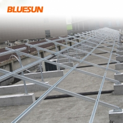 Solar Module Roof Mounting Brackets System