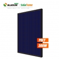 Bluesun 5BB 60 Cells Series Full Black Poly Solar Panel 300Watt 300W 300Wp