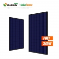Bluesun PV Module Polycrystalline Solar Panel 345W 345Watt 345 W  Black Solar Panels For Home