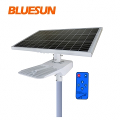 Bluesun High Efficiency 50W 60W 80W 100Watt Solar Energy Light IP66 Solar Street Light