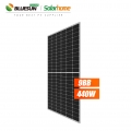 Bluesun 9BB 144cell Solar Cells Solar Panel Half Cell 420W 430Watt 440Wp Solar Panel For On-grid Solar System