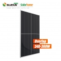 Bluesun perc overlap solar cell mono crystalline solar panel high efficiency 340w 350watt 360wp